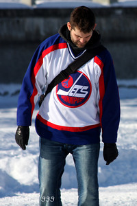 An old Jets jersey on the Rideau Canal - Ottawa, ON ... February 5, 2011 ... Photo by Rob Page III