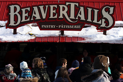 BeaverTails on the Rideau Canal - Ottawa, ON ... February 5, 2011 ... Photo by Rob Page III