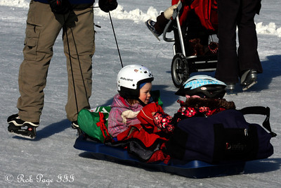 Transportation on the Rideau Canal - Ottawa, ON ... February 5, 2011 ... Photo by Rob Page III