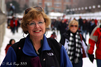 Mom enjoys the canal - Ottawa, ON ... February 5, 2011 ... Photo by Rob Page Jr.