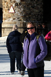 Heather on the Rideau Canal - Ottawa, ON ... February 5, 2011 ... Photo by Rob Page III