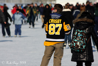A common jersey on the Rideau Canal - Ottawa, ON ... February 5, 2011 ... Photo by Rob Page III
