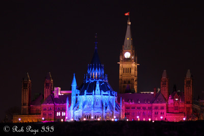Parliament - Ottawa, ON ... February 4, 2011 ... Photo by Rob Page Jr.