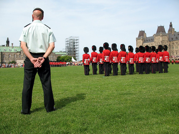 Changing of the Guards, Parliament Hill, Ottawa, Canada