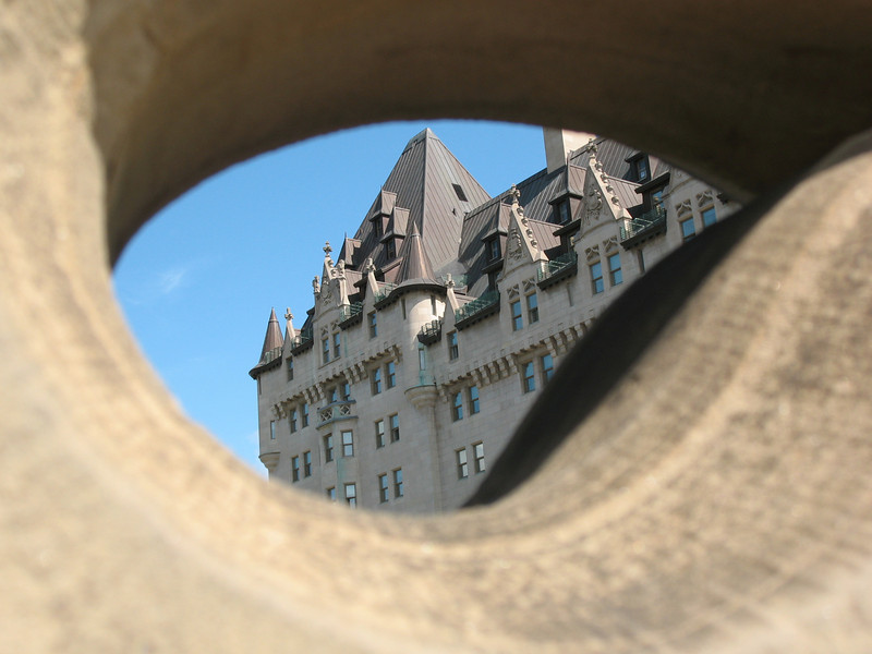 Chateau Laurier through Opening