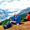 Saskatchewan Glacier on Parker Ridge Trail