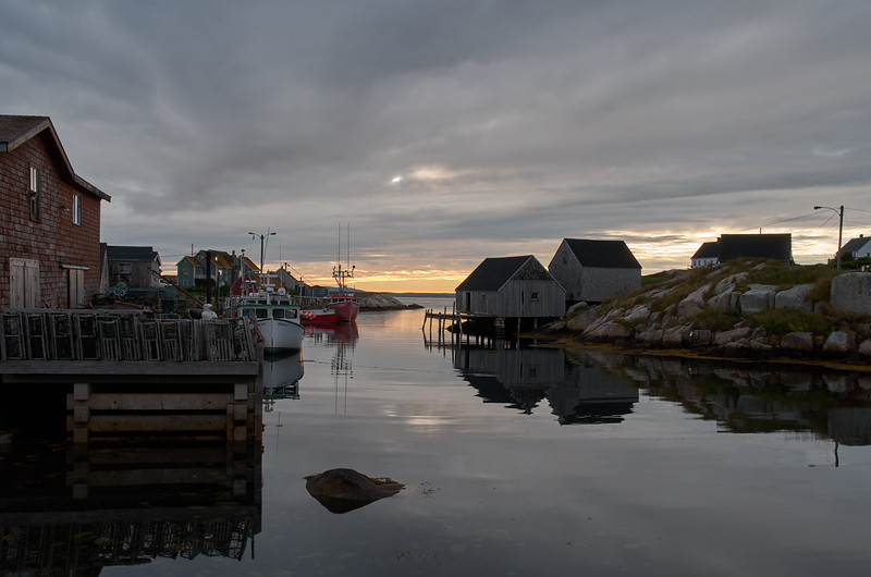 Days Ends Peggy's Cove
