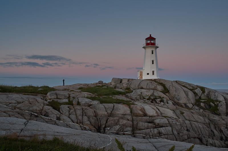 Dawn at the lighthouse