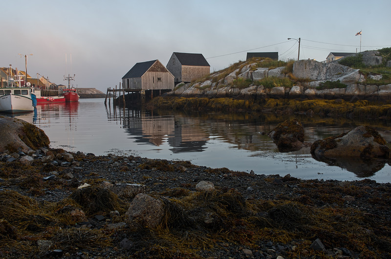 First light in Peggy'c Cove