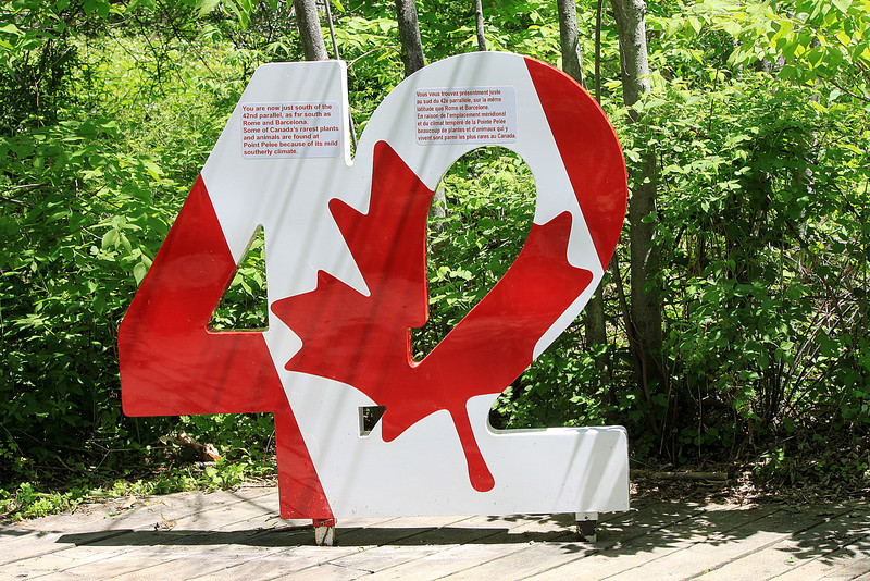 42nd Parallel - Point Pelee National Park