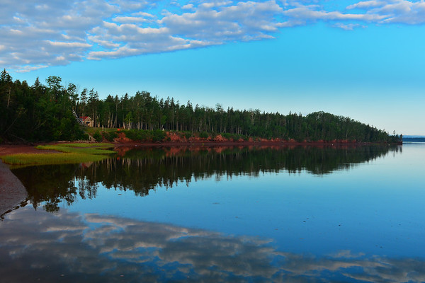 Reflection in Pinette River
