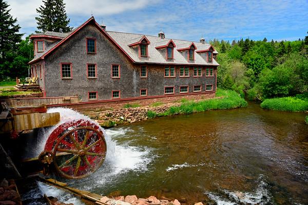 Gristmill in PEI - June