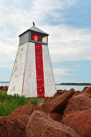 Vibrant Beach Point Lighthouse
