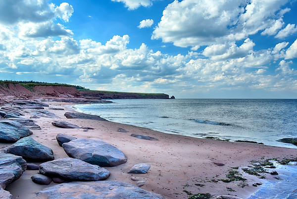 Rocky and Red beach in PEI