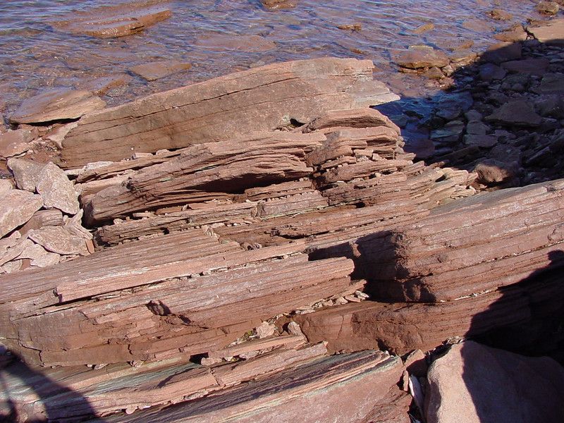 The Red Rock of PEI
