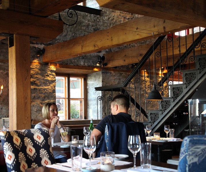 Chez Muffy, Auberge Saint-Antoine's Restaurant