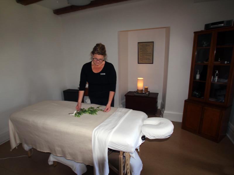 Quebec, Monastery, Massage chamber