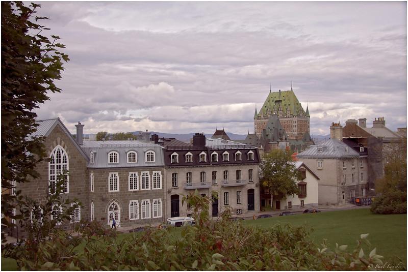 Historic buildings in Upper Town