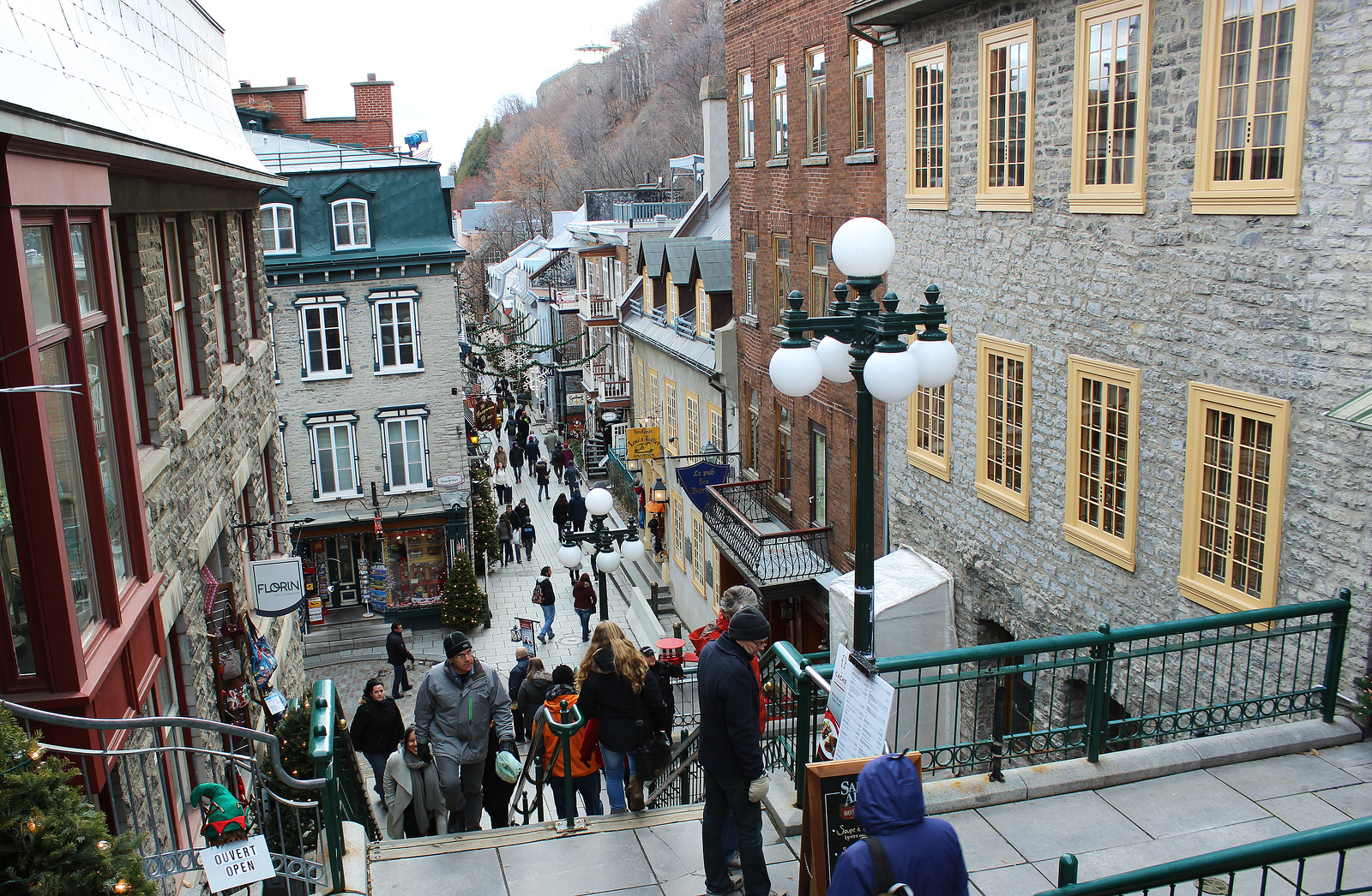 photo essay christmas in old quebec