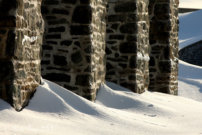 Some of the walls of the Citadelle of Quebec - Quebec City, QC ... December 30, 2009 ... Photo by Rob Page III