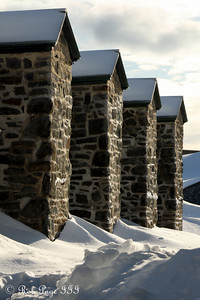 The walls at the Citadelle of Quebec - Quebec City, QC ... December 30, 2009 ... Photo by Rob Page III
