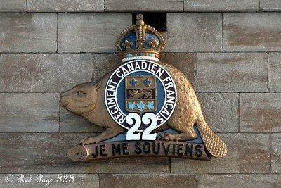 The 22nd Regiment at the Citadelle of Quebec - Quebec City, QC ... December 30, 2009 ... Photo by Rob Page III