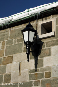 A lamp at the Citadelle of Quebec - Quebec City, QC ... December 30, 2009 ... Photo by Rob Page III
