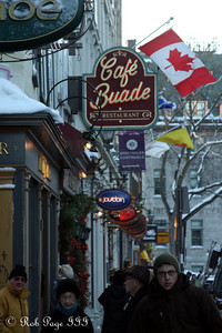The streets - Quebec City, QC ... December 30, 2009 ... Photo by Rob Page III
