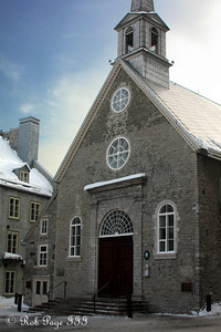 Notre-Dame-des-Victories - Quebec City, QC ... December 31, 2009 ... Photo by Rob Page III