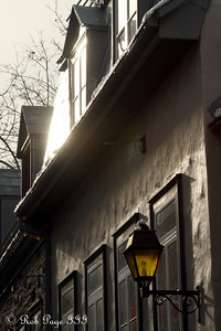 A lamp - Quebec City, QC ... December 31, 2009 ... Photo by Rob Page III