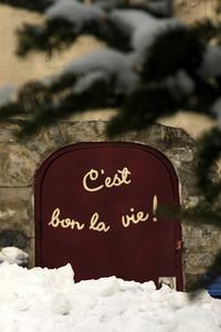 C'est bon la vie! - Quebec City, QC ... December 31, 2009 ... Photo by Rob Page III