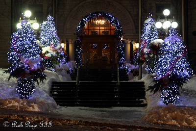 Hotel De Ville De Quebec - Quebec City, QC ... December 30, 2009 ... Photo by Rob Page III