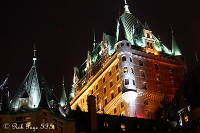 Chateau Frontenac - Quebec City, QC ... December 30, 2009 ... Photo by Rob Page III