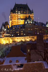 Chateau Frontenac - Quebec City, QC ... December 31, 2009 ... Photo by Rob Page III