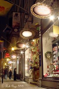 Rue De Buade - Quebec City, QC ... December 30, 2009 ... Photo by Rob Page III