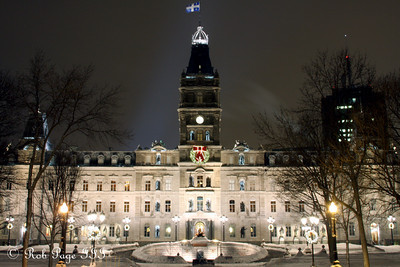 Quebec Parliament - Quebec City, QC ... December 30, 2009 ... Photo by Rob Page III