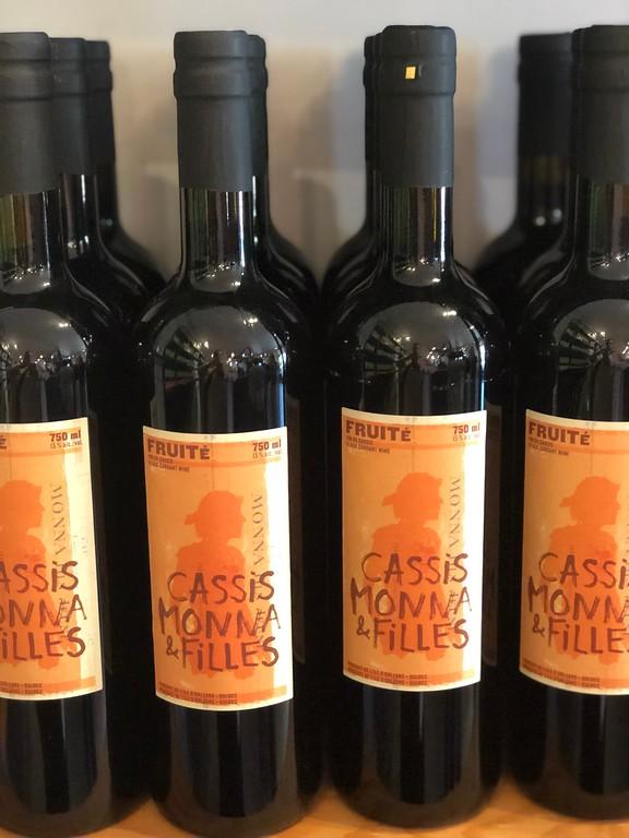 Fruité cassis wine from Cassis Monna et Filles