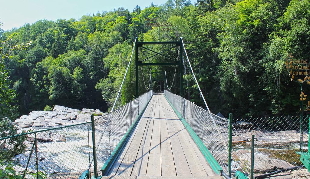 Mestachibo Bridge Quebec