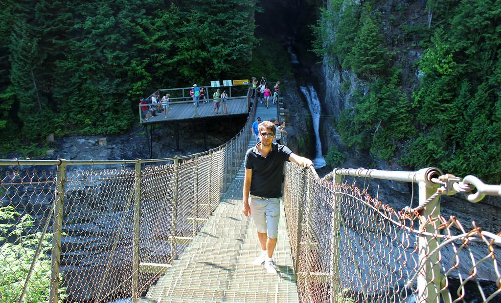The Laurent Bridge - suspension bridge