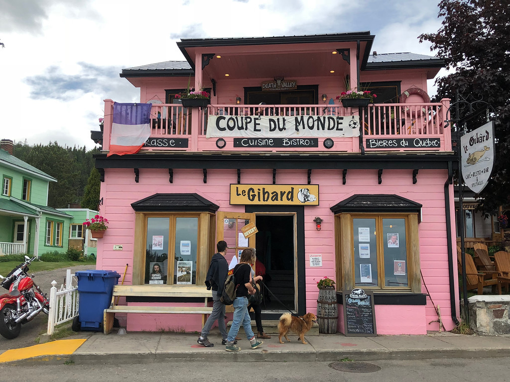 Day Trips from Quebec City: Tadoussac in the region of Côte Nord is perfect for foodies and whale watching.