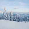 Winter scene in Charlevoix, Quebec, Canada