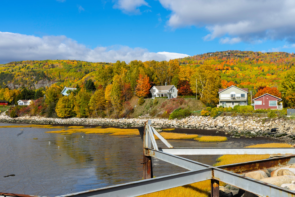 Autumn in Charlevoix, Quebec