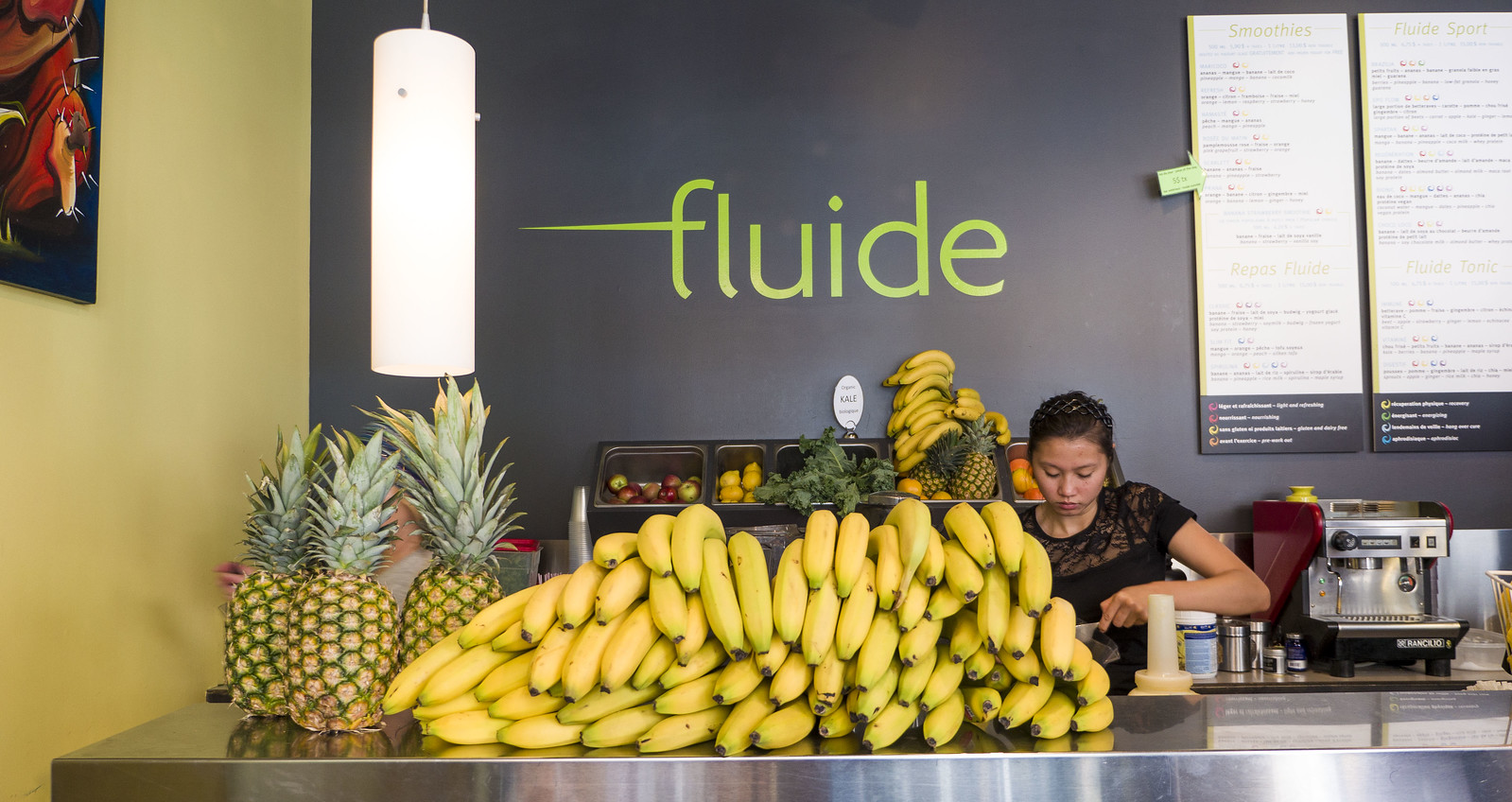 Mont Tremblant Vegan Guide - Fluide juice bar