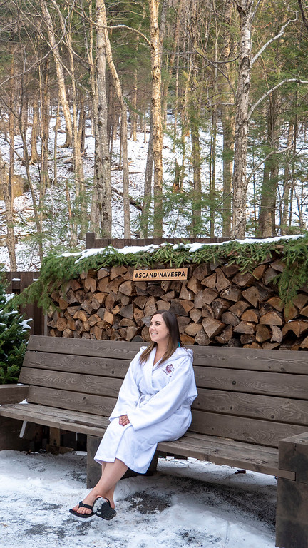 Scandinave Spa Mont Tremblant - Winter at Scandinave Spa
