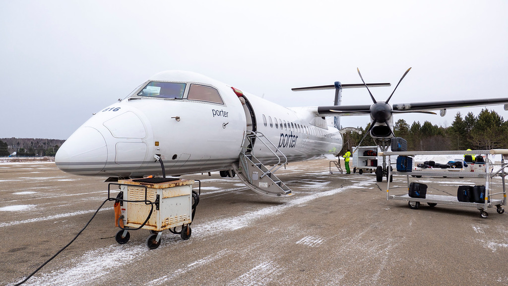 Flying from Toronto to Mont Tremblant with Porter Airlines