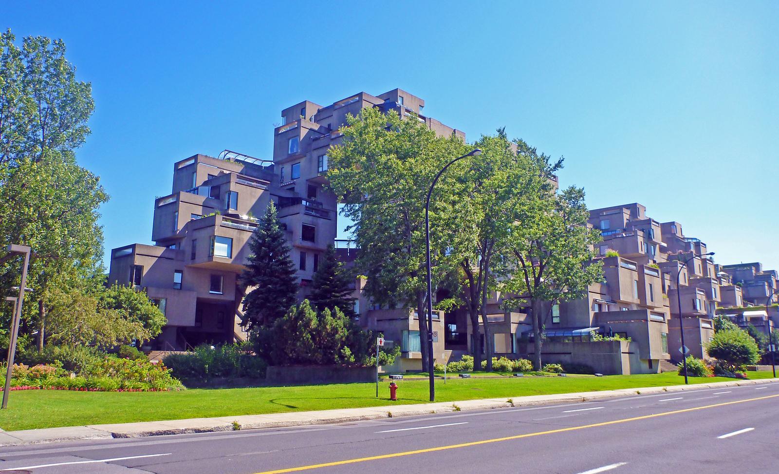 Habitat 67 Montreal - Cube Housing Complex