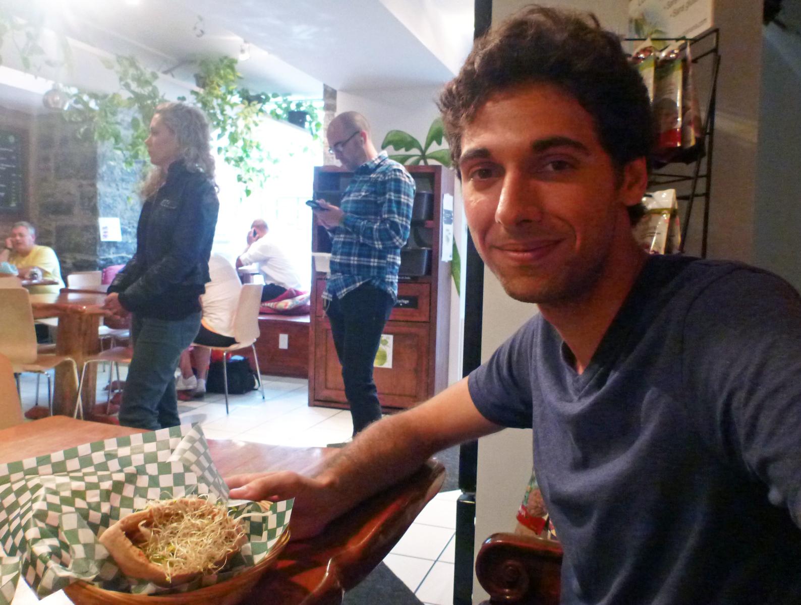 La Panthere Verte - The Best Falafel in Montreal - Vegan Restaurant - Montreal, Canada