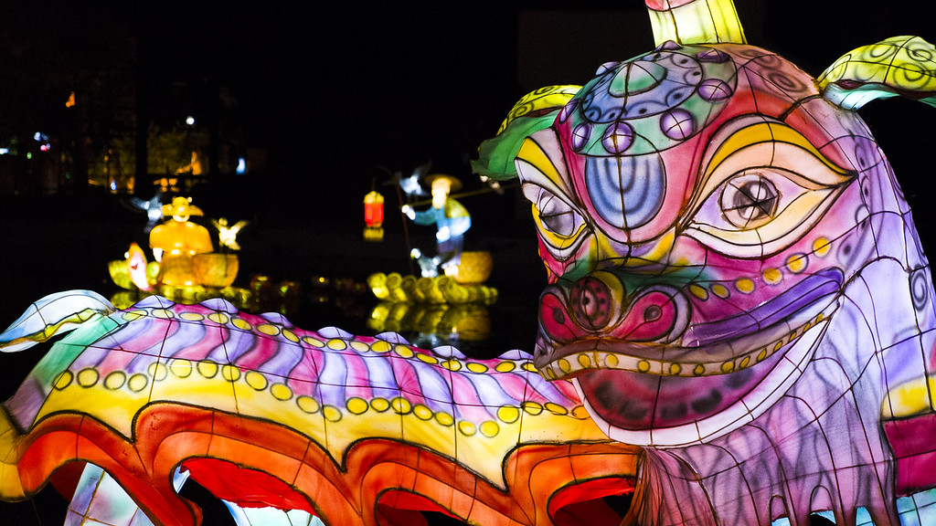 Montreal 3 day itinerary: Gardens of Light Festival (Jardins de Lumière) in Montreal - Montreal lantern festival