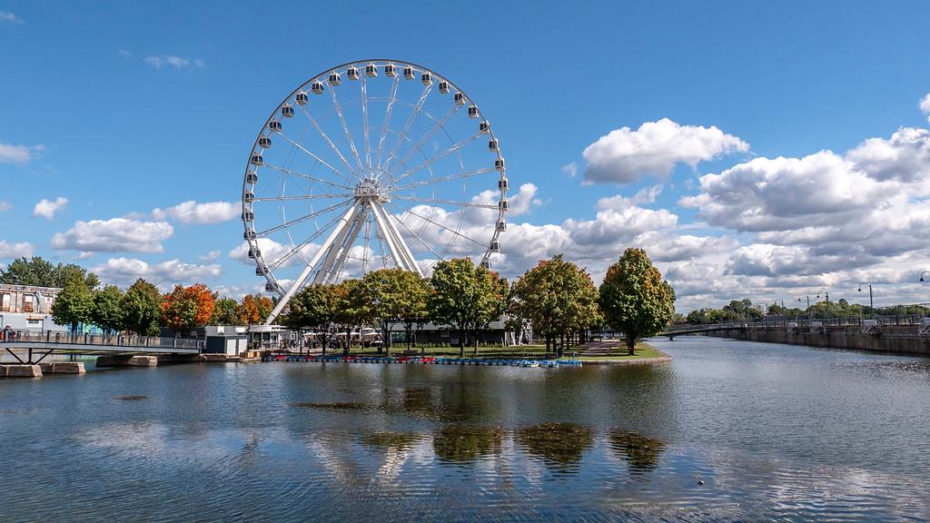 Montreal 3 day itinerary: La Grande Roue de Montréal - Ferris Wheel