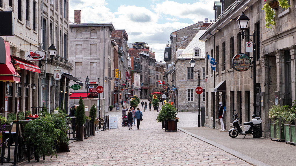 Montreal 3 day itinerary: Old Montreal - Vieux Montreal
